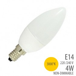 Ampoule led -Flamme - E14- 4W - 3000°K