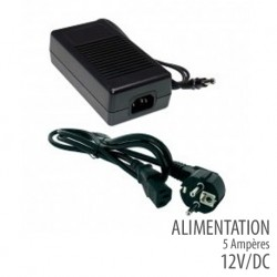 Alimentation 12 Volts -5 Ampères