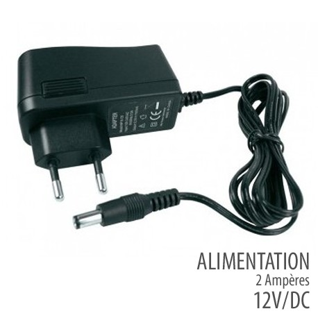 Alimentation 12 Volts -2 Ampères