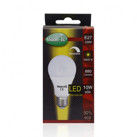 Ampoule led -E27-10W-3000°K-dimmable