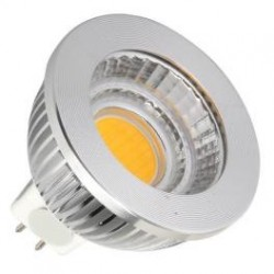 LED COB-GU5.3/MR16 -5W- dimmable, couleur 3000°K