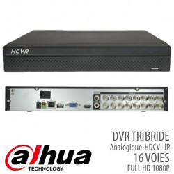 DVR TRIBRIDE 16 VOIES FULL HD 1080P (Analogique,HD-CVI,IP)